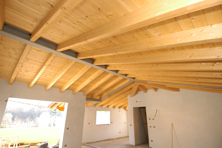 Dolmen legno realizza il tuo tetto in legno dilazionando comodamente l importo - Legno sbiancato tetto ...